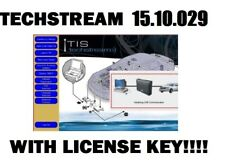 Techstream V15.10.029 + License Key - Toyota Lexus -Mini VCI J2534 OBD2 DOWNLOAD
