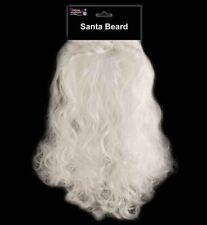 "13"" Santa Fake Curly Beard Fancy Dress Accessory Christmas Fancy Dress Adult"