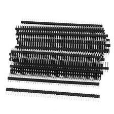50 Pcs Single Row 40Pin 2.54mm Male Pin Header Connector