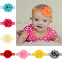 12pcs Kids Girl Baby Headband Toddler  Flower Hair Band Headwear Accessory AWG