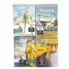 Breaking Bad The Complete First, Second, Third, Fourth Season (DVD) Lot 1-4