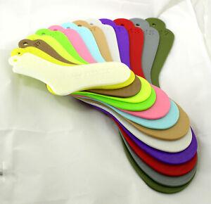 Sockenspanner aus dem 3D Drucker Größen 22 - 47 Sockenmaß Sockenbrett Kunststoff