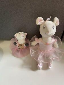 American Girl Angelina Ballerina dress plush Doll figure friend little lamb lot