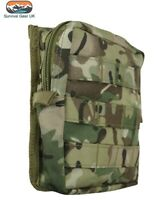 BTP CAMO MEDIUM ARMY KOMBAT MOLLE UTILITY POUCH MILITARY AIRSOFT PAINTBALL
