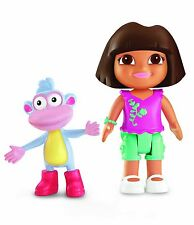 DORA L'ESPLORATRICE DORA E BOOTS FIGURE NUOVE IN BLISTER FISHER-PRICE X7993