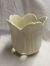 Partylite-White Tulip Votive Holder