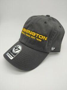 Washington Football Team '47 Brand Hat Cap charcoal grey gray adjustable new