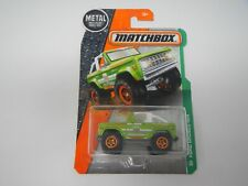 Matchbox Ford Bronco 4x4 #118