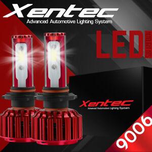 XENTEC LED HID Headlight Conversion kit 9006 6000K for 1993-1997 Volvo 850