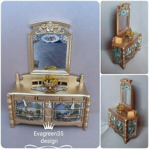 Dolls house cabinet Chiffonier side cabinet 12th scale by Evagreen35