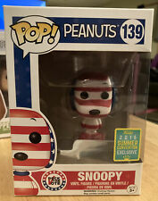 Funko Pop Animation Peanuts: Snoopy #139 Rock The Vote - 2016 Summer Convention
