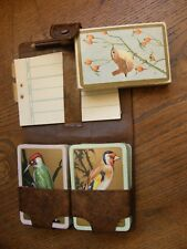 VINTAGE BIRD RSPB PLAYING CARDS,TROPICAL BIRDS BACKED CARDS,WOODPECKER,FREEPOST