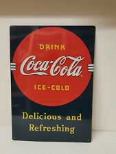 Coca-Cola Tin Sign Board Plaque Shops Signs (44cm x 30cm)