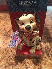 Disney Jim Shore 101 Dalmatians Lucky in Love 4026083 New in Box RARE