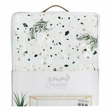 Goumikids 3 Piece Soft Organic Baby Nursery Crib Sheet Bedding Set, Botanical