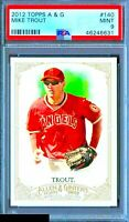 2012 Topps Allen & Ginter Mike Trout RC #140 ROOKIE PSA 9 MINT!