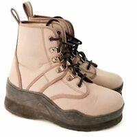 Caddis Explorer Wading Shoes Ecosmart II Sole Womens Size 6 Beige