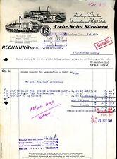 Rechnung--1941-- 7.11-- Nürnberg--Gebr. Seim--Lebkuchen,Schokoladen,Waffeln-