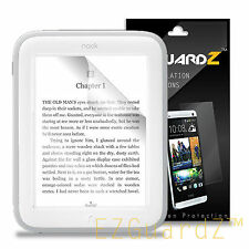 3X EZguardz Clear Screen Protector Shield 3X For Barnes & Noble Nook GlowLight