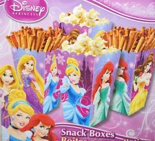CANDY BUFFET SNACK BOXES DISNEY PRINCESS PARTY FAVORS TREATS PINK GIRLS POSTRE