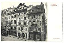 CPA Suisse Centrale Lucerne Luzern Weinmarkt