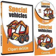 Tractor Clipart Vinyl Cutter Plotter Images Eps Vector Clip Art Graphics Cd