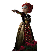 RED QUEEN Alice In Wonderland Bonham Carter CARDBOARD CUTOUT Standee Standup F/S