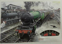 Football Club Railway Train Locomotive Postcards 1994