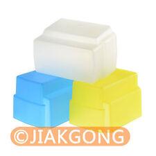 Blue+Yellow+white kit Flash Diffuser for NIKON SB-600