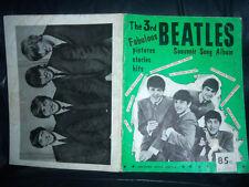 The Beatles Original 1965 3rd Partituras canción libro EX + + su estado a EE. UU. y la parte posterior