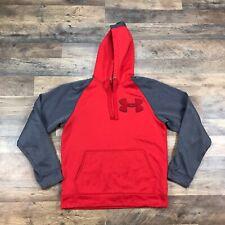 UNDER ARMOUR Men's Medium Long Sleeve Hoodie Sweatshirt Pullover Loose Athletic