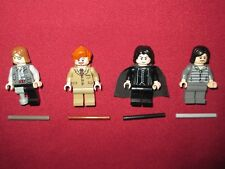 LEGO Harry Potter minifigures LOT,MOODY,SNAPE,LUPIN,SIRIUS BLACK & WANDS