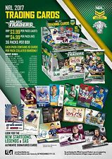 2017 ESP NRL Traders New Sealed Trading Cards Box (36 Packs)