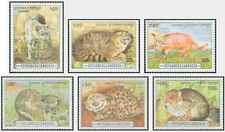 Timbres Animaux Félins Cambodge 1313/8 ** lot 27143