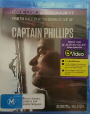 *New & Sealed* Captain Phillips (Blu-ray + UV 2014) True Story Movie, Tom Hanks