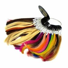 Lord & Cliff Hair Extensions 100% Human 51 Colors Ring Chart Solid Blends