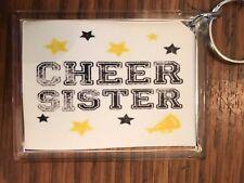 Cheerleading Keychain with Cheer Sister 4