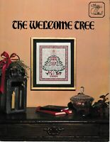 The Welcome Tree Charted Cross Stitch Christmas | Three Needles