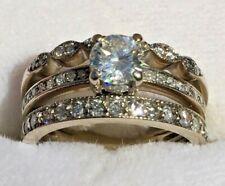 Amazing 14K White Gold 1ct Diamond Engagement Ring TW 5.4g, No Reserve