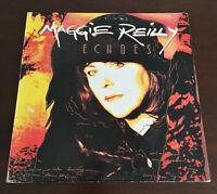 Maggie Reilly - Echoes 1st Greek Press Vinyl 1992 Record LP EMI ORG V.Rare VG/VG