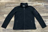 Port Authority Womens Long Sleeve Full Zip Jacket Size Large Black Used