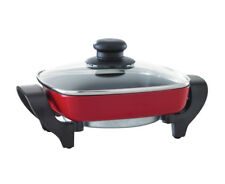 Maxim 20cm Mini Electric Frypan - Red