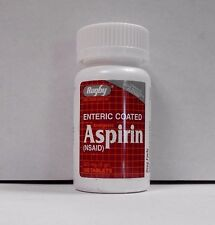 Rugby EC Aspirin 325mg 100ct Tablets  -Expiration Date 02-2019-