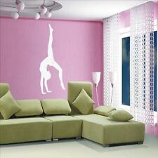 Huhome PVC Wall Stickers Wallpaper Large ballet dance girl gymnastics room bedro