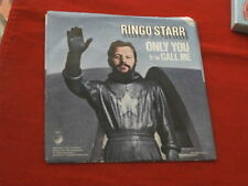 RINGO STARR~ ONLY YOU~ CALL ME~ VG++~RECORD~ SLEEVE~VG~ APPLE ~ POP 45