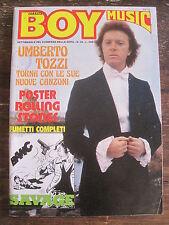 Corrier Boy Music Anno Viii #20 Fumetti Italian Language Rolling Stones poster