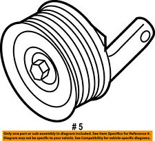 FORD OEM-Serpentine Drive Belt Idler Pulley 4S7Z8678A