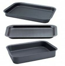 AGA Safe British Made Hard Anodised Oven Tray Set.