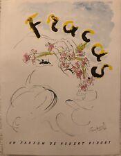 """NORAL JEAN """"FRACAS"""" UN PARFUM DE ROBERT PIGUET 1946"""