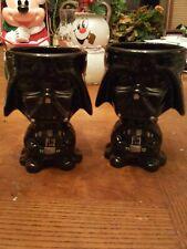 Star Wars Darth Vader Ceramic Coffee Full Body Cup Goblet Dark Side set of 2